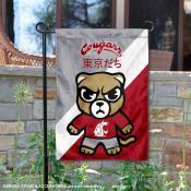 Washington State Cougars Yuru Chara Tokyo Dachi Garden Flag