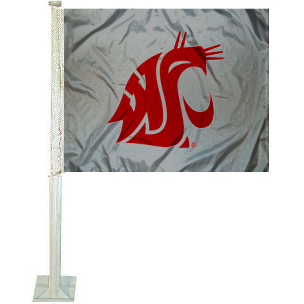 Washington State University Car Flag