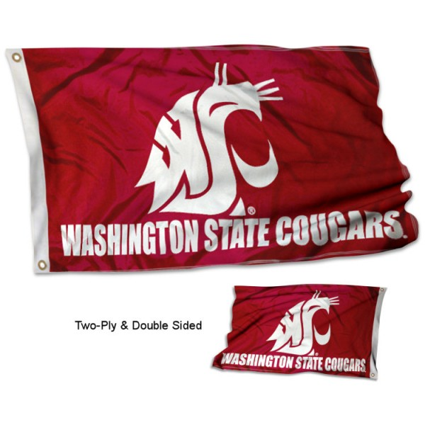 Washington State University Flag - Stadium