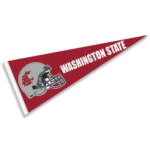Washington State University Football Helmet Pennant