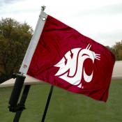 Washington State University Golf Cart Flag