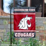 Washington State WSU Garden Flag