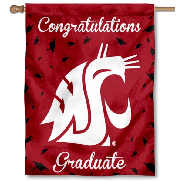 Washington State WSU Graduation Banner
