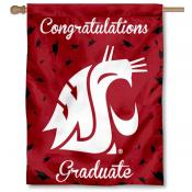 Washington State WSU Graduation Banner