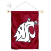 Washington State WSU Small Wall and Window Banner