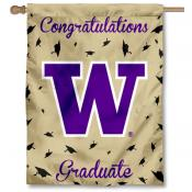Washington UW Huskies Graduation Banner
