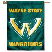 Wayne State Warriors House Flag