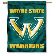 Wayne State Warriors House Flag