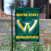 Wayne State Warriors Yard Flag