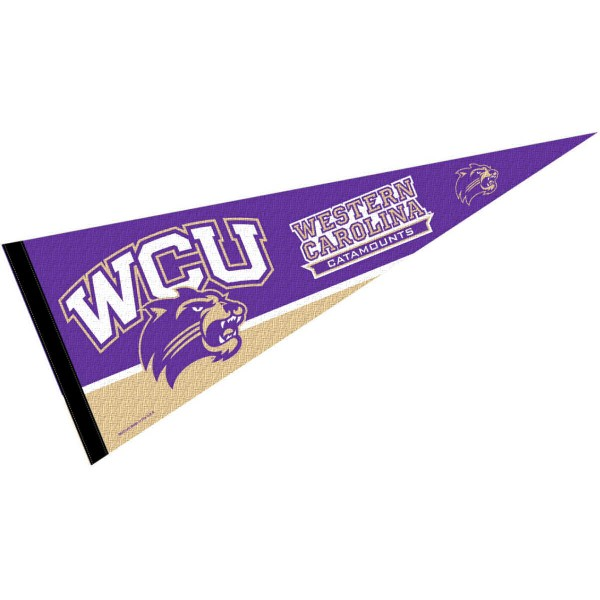 WCU Catamounts Pennant