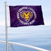 WCU Golden Rams Boat Nautical Flag