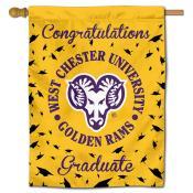 WCU Golden Rams Graduation Banner