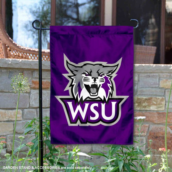 Weber State University Double Sided Garden Flag