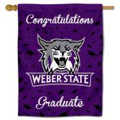 Weber State Wildcats Graduation Banner