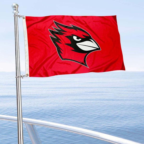 Wesleyan Cardinals Boat Nautical Flag