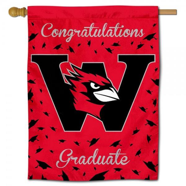 Wesleyan Cardinals Graduation Banner