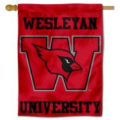 Wesleyan Cardinals House Flag