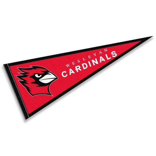 Wesleyan Cardinals Pennant