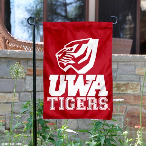 Nice West Alabama Tigers Garden Banner