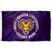West Chester Golden Rams Logo Flag