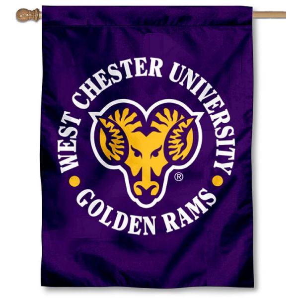West Chester University Logo House Flag
