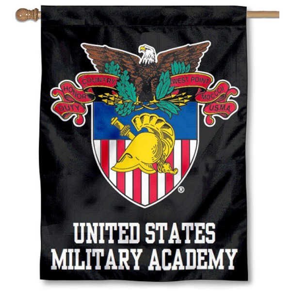 West Point Academy Seal House Flag