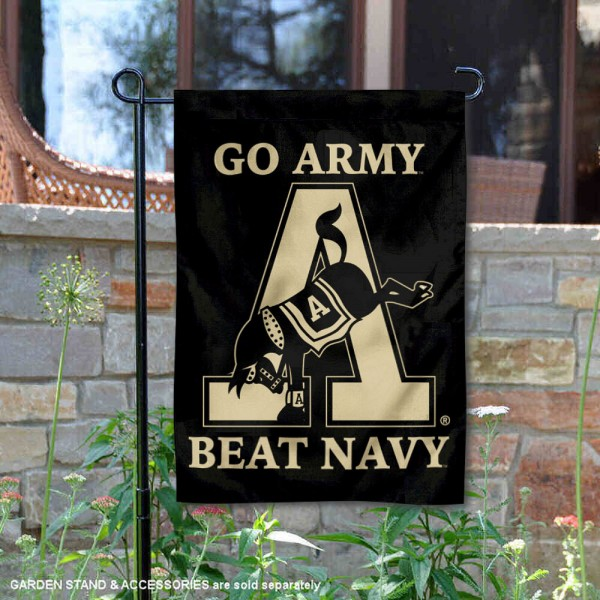 West Point Mule Logo Double Sided Garden Flag