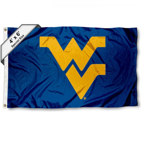 West Virginia Mountaineers 4'x6' Flag