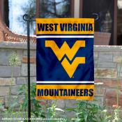 West Virginia Mountaineers Garden Flag