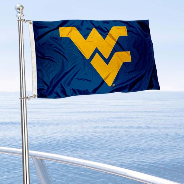 West Virginia Moutaineers Boat Flag