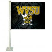West Virginia State Yellow Jackets Car Flag