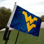 West Virginia University Golf Cart Flag