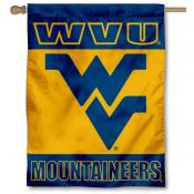 West Virginia University Logo House Flag