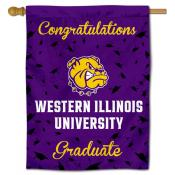 Western Illinois Leathernecks Graduation Banner
