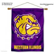 Western Illinois Leathernecks Wall Hanging