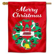 Western Kentucky Hilltoppers Christmas Holiday House Flag