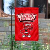 Western Kentucky Hilltoppers Garden Flag