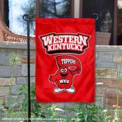 Western Kentucky Hilltoppers Garden Flag
