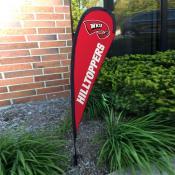 Western Kentucky Hilltoppers Mini Teardrop Garden Flag