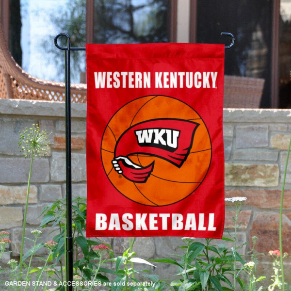Western Kentucky University Basketball Garden Flag