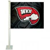 Western Kentucky University Car Flag