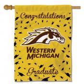 Western Michigan Broncos Graduation Banner