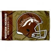 Western Michigan Broncos Helmet Flag