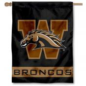 Western Michigan Broncos House Flag