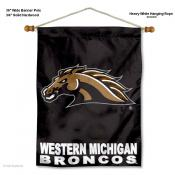 Western Michigan Broncos Wall Hanging