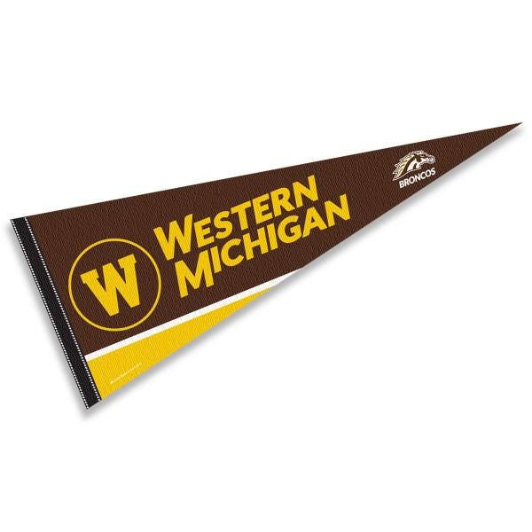 Western Michigan WMU Broncos Pennant