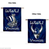 Western Washington University Logo House Flag