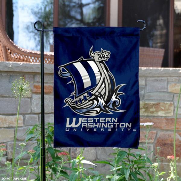 Western Washington Vikings Garden Flag
