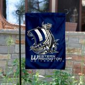 Western Washington Vikings Garden Flag