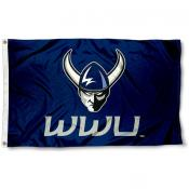 Western Washington WWU Vikings Flag